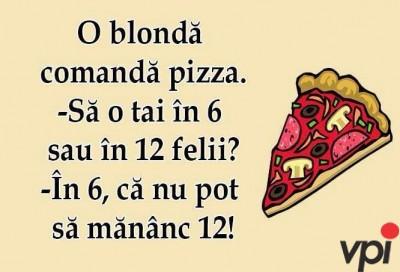 Cand comanzi Pizza