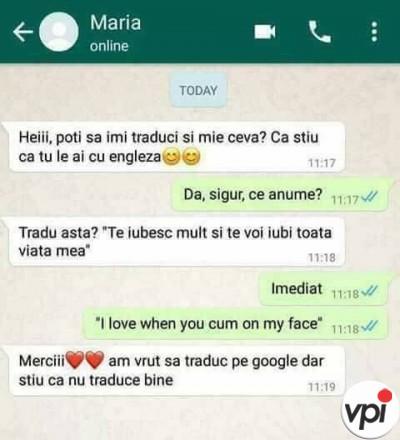 Cand nu stii engleza
