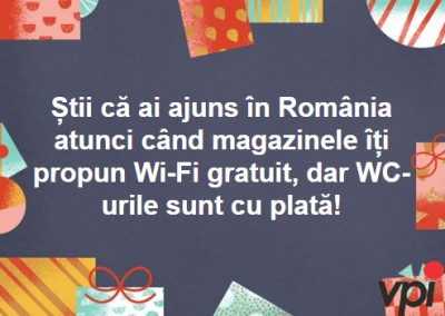 Cand stii ca ai ajuns in Romania