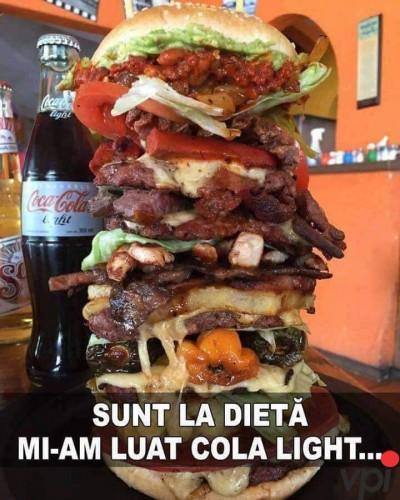 Cand sunt la dieta