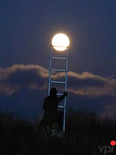 Cand vrea Luna de pe cer
