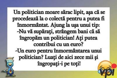Cat de iubiti sunt politicienii
