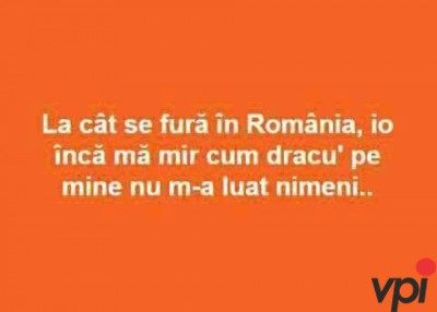 Cat se fura in Romania