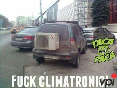 Climatronic la masina