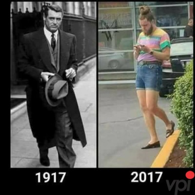 Cum au evoluat barbatii