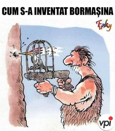 Cum s-a inventat bormasina
