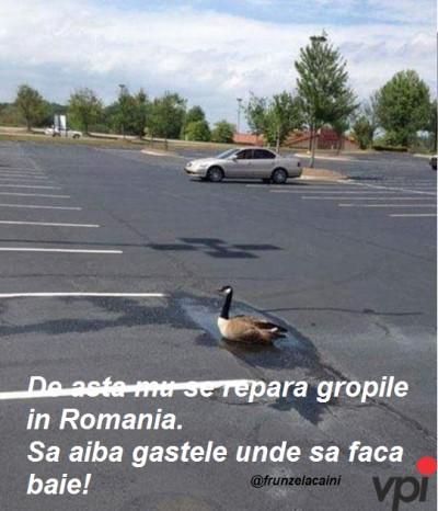 De ce nu se repara gropile in Romania