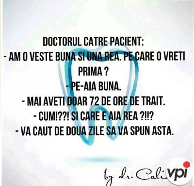 Doctorul si pacientul