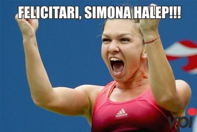 Felicitari, Simona Halep!
