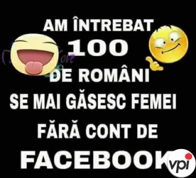 Femei fara cont de facebook