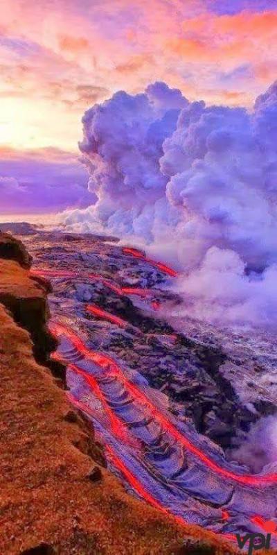 Frumusetea unui vulcan