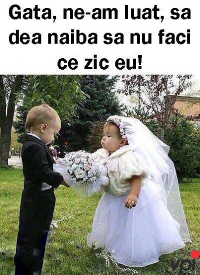 Imediat dupa casatorie