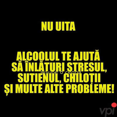 La ce e bun alcoolul?