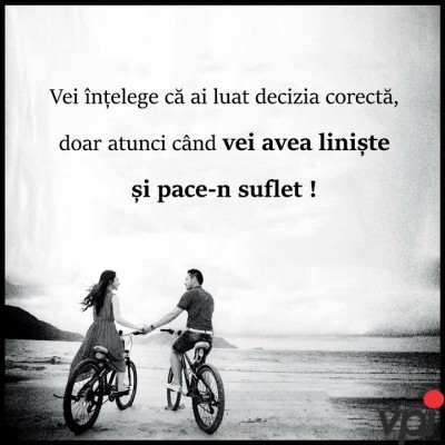 Liniste si pace-n suflet