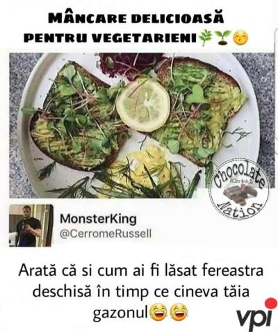 Mancare pentru vegetarieni