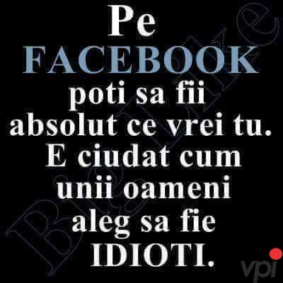 Oamenii de pe Facebook