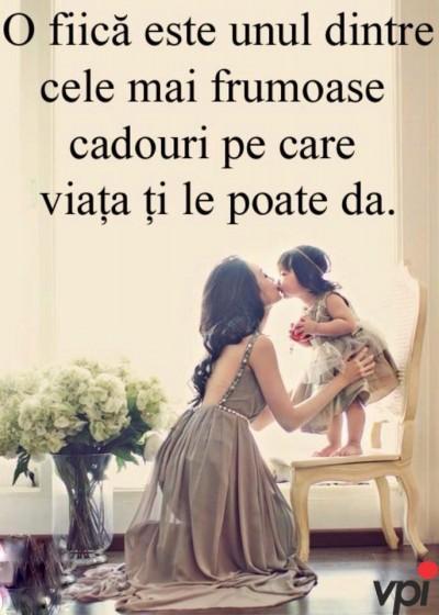 Pentru fiica mea!