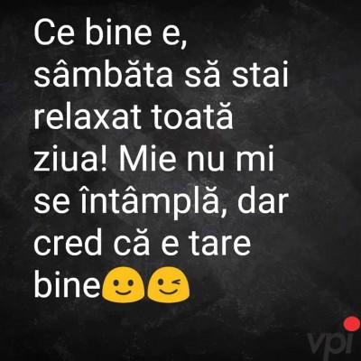 Relaxare Sambata!