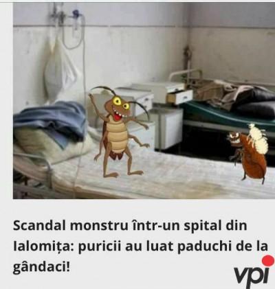 Scandal monstru in spital