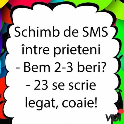 SMS intre prieteni