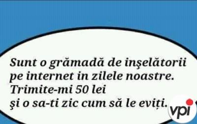 Tepe pe internet!