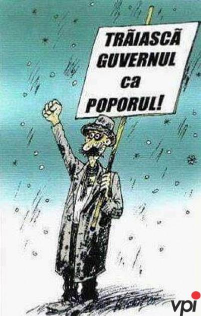 Urare pentru Guvern!
