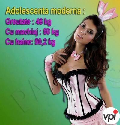 Adolescenta moderna