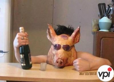 Beau ca porcul!