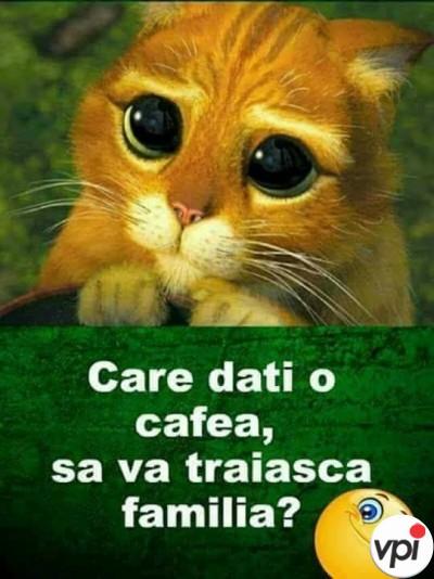Care dati o cafea?