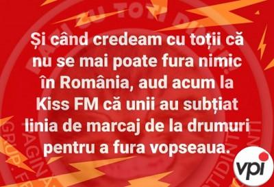 Ce se mai fura in Romania