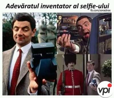 Cine a inventat selfie-ul