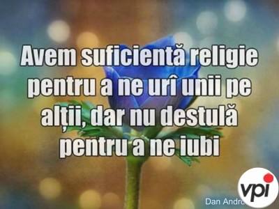 Religia si bunatatea sufletului