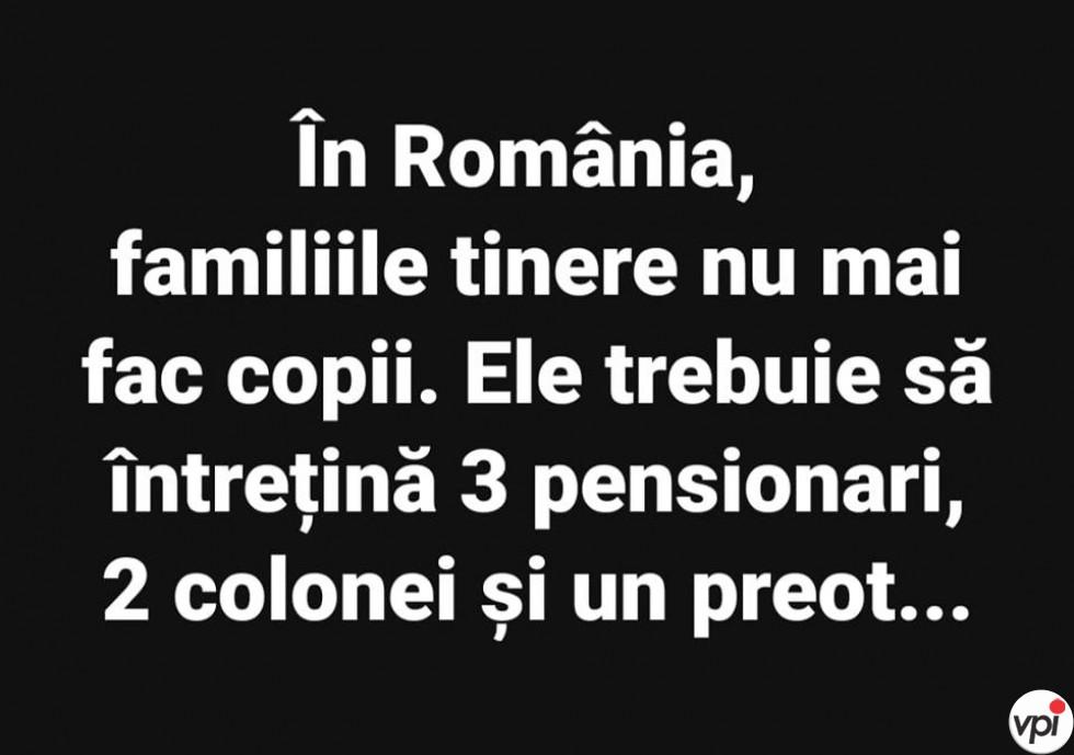 De ce nu se mai fac copii in Romania
