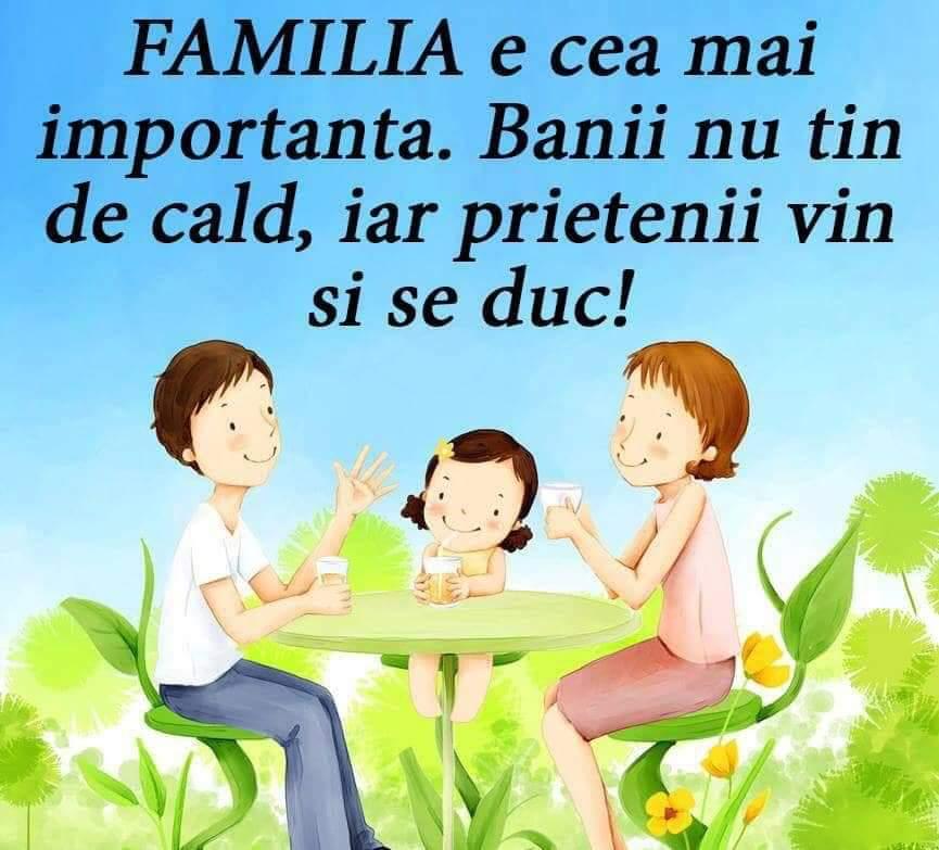 Importanta Familiei