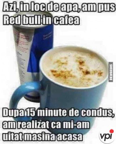 Ce se intampla daca bei Red Bull