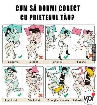 Cum sa dormi cu iubitul