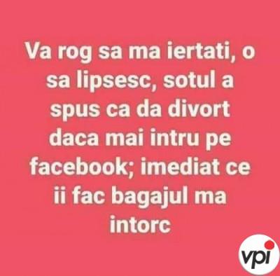 Probleme cu Facebook-ul