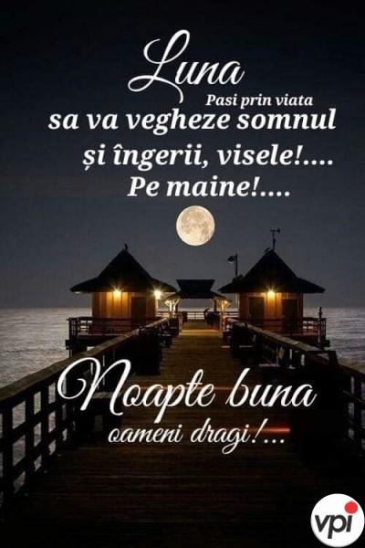 Noapte bună, oameni dragi!