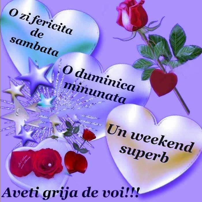 Un weekend superb!