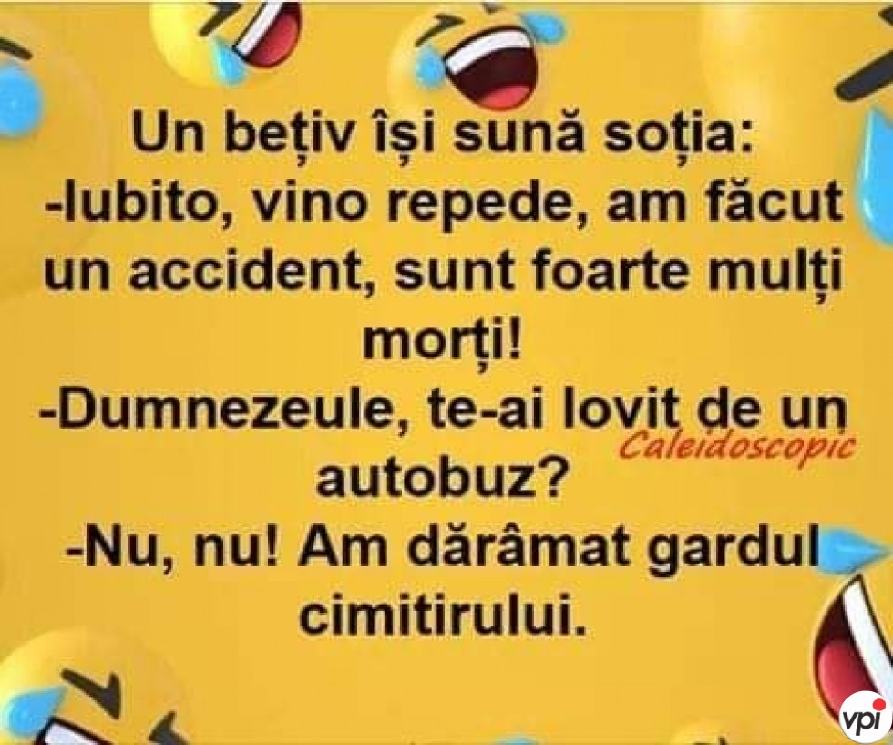 Accident cu multi morti