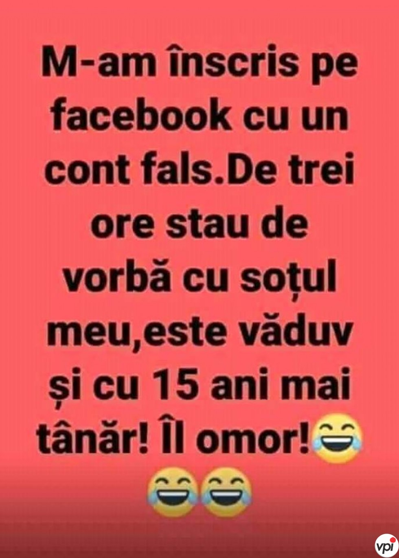 Cont fals pe Facebook