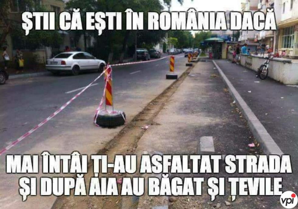 Știi că ești în România dacă...