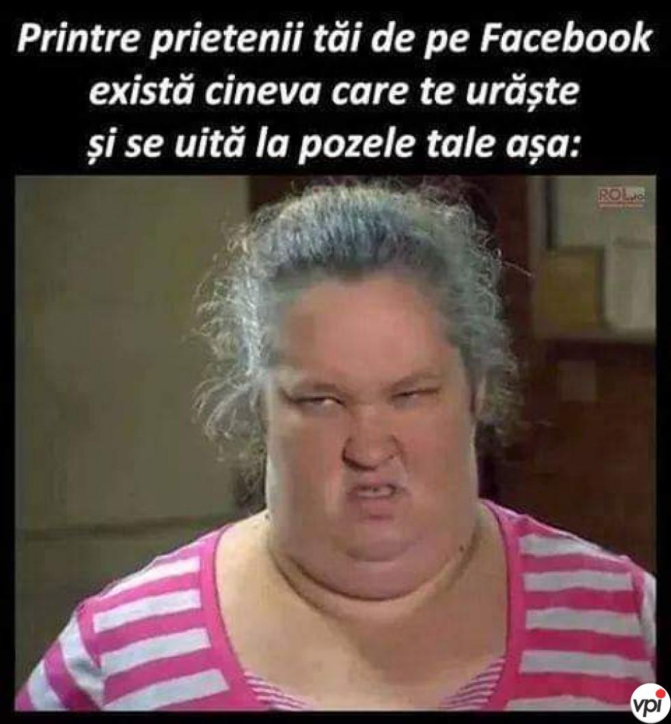 Cei care  mă urăsc de pe Facebook