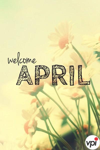 Bun venit Aprilie!