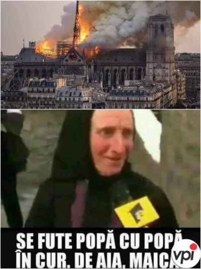 De ce a luat foc Catedrala Notre Dame