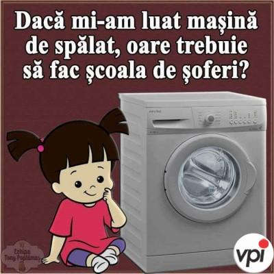 Mi-am luat mașină de spălat