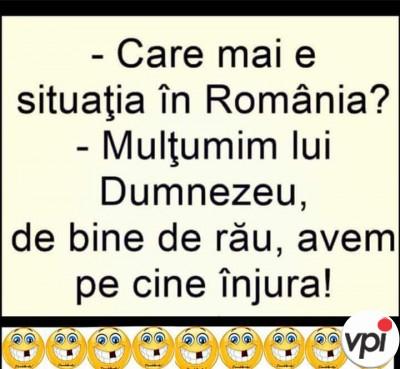 Care mai e situația în România?
