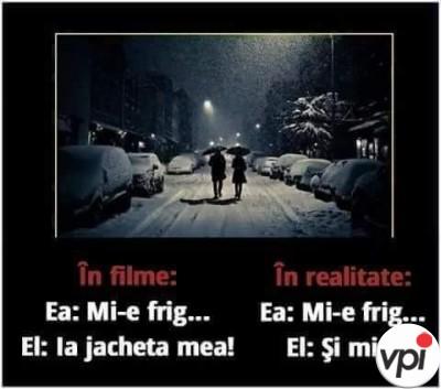 Diferența dintre filme și realitate