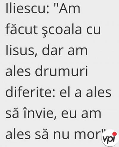 Ce mai zice Iliescu