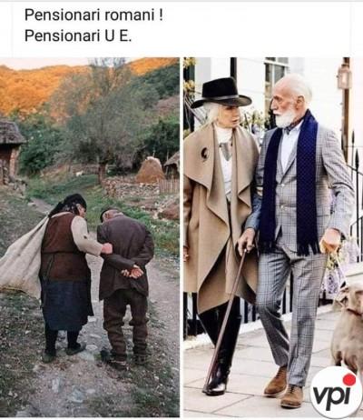 Pensionarii români